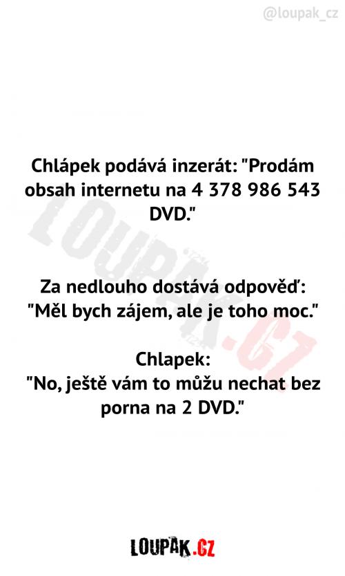 Prodám DVD
