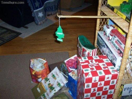 Originální vánoční stromeček