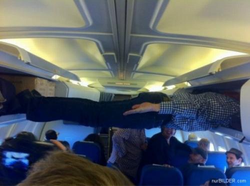 Komik v letadle