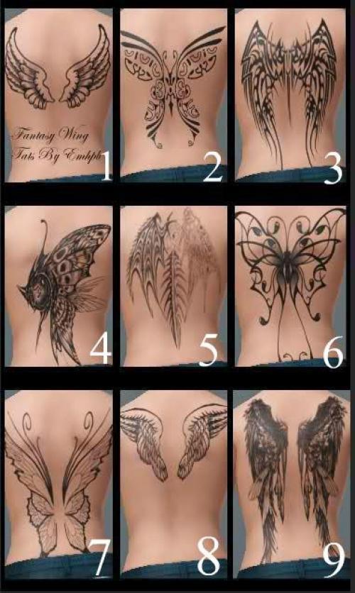 9 druhů tetování