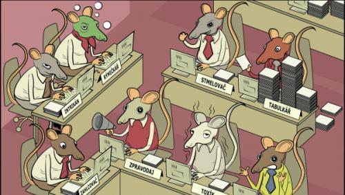 Kancelářské krysy.