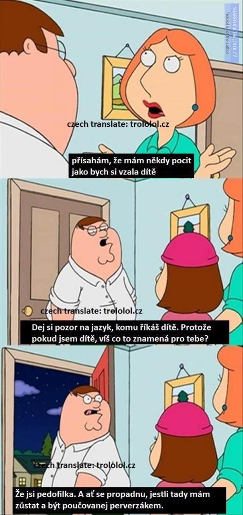 Peter Griffin a jeho perla