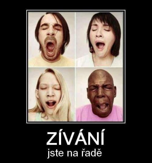 Zívání