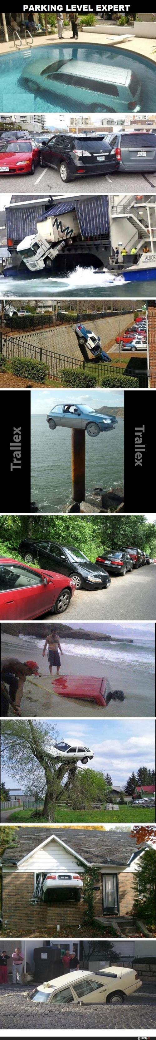 Jak parkují borci