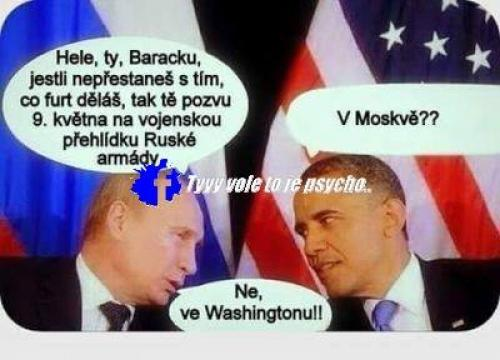 Putin a Obama