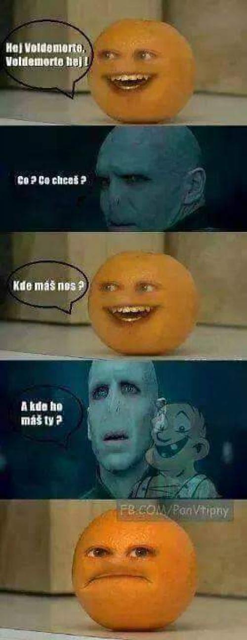 Voldemort a pomeranč