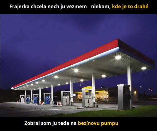 Benzínka
