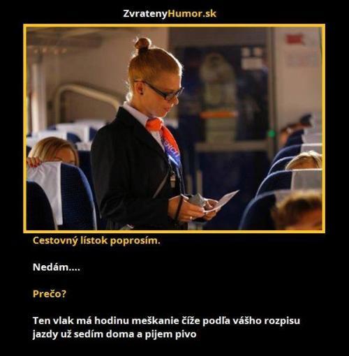 Cestovní lístek, prosím