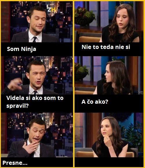 Jsem ninja!