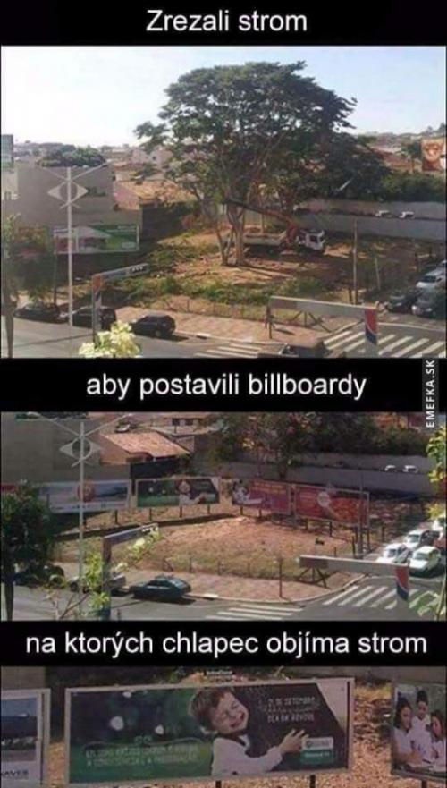 Billboardy na téma