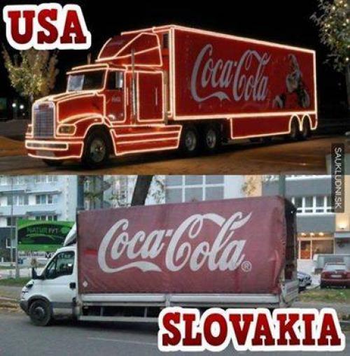 Coca Cola kamion