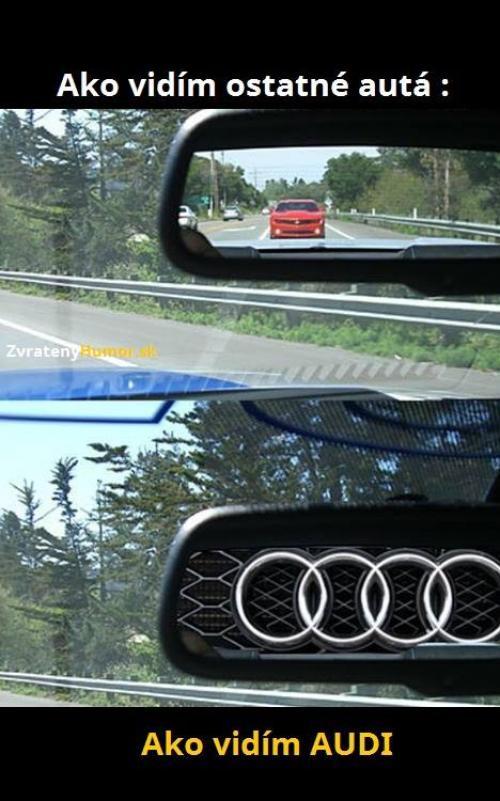 Ostatní auta vs Audi