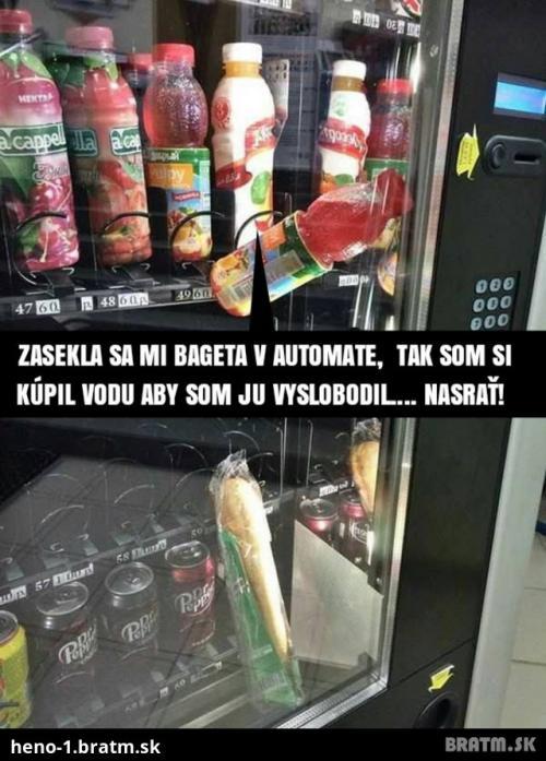 Každodenní problém s automaty
