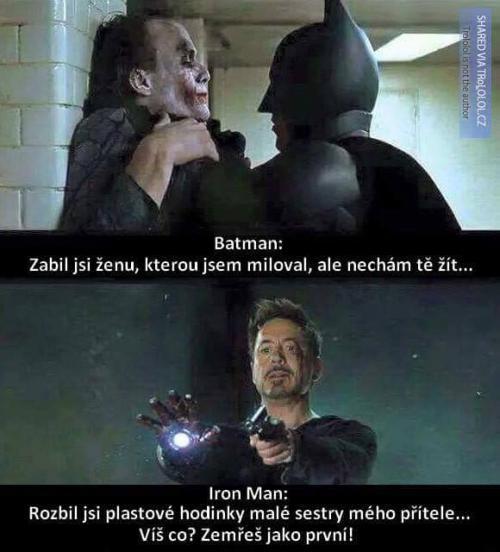 Batman a Iron Man