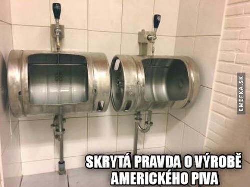 Výroba amerického piva