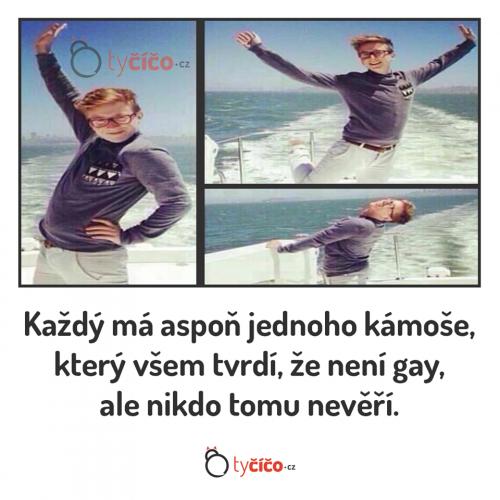 Nejsem gay borci