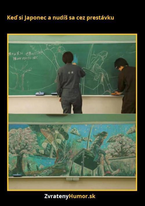 Japonci o přestávce