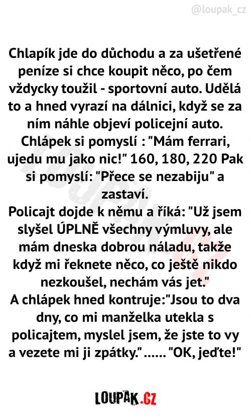 Policista dobrák