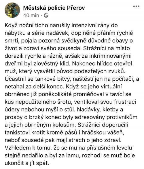 Zápisky od České policie