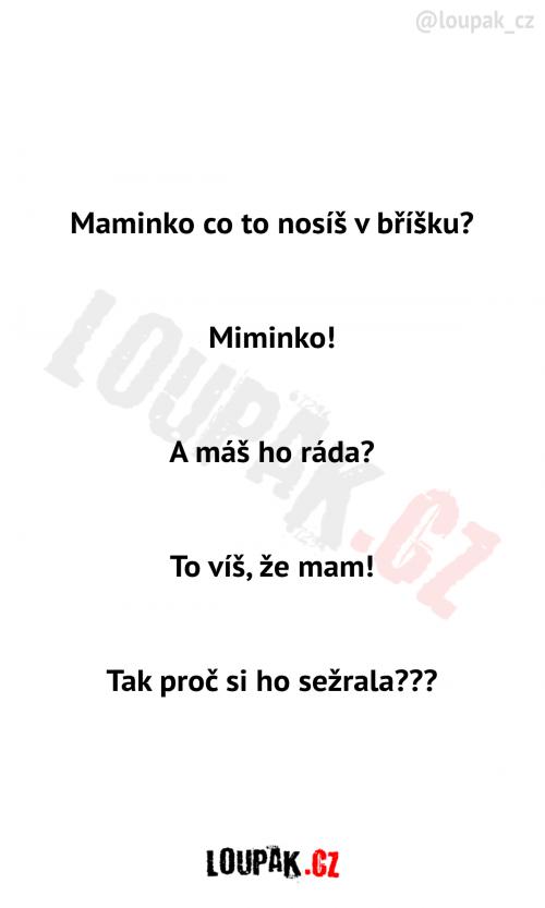 Maminko a miminko