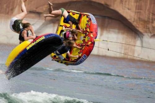 Adrenalin na člunu