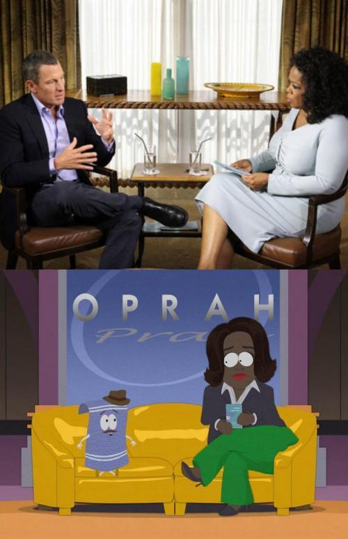 Armstrong u Oprah