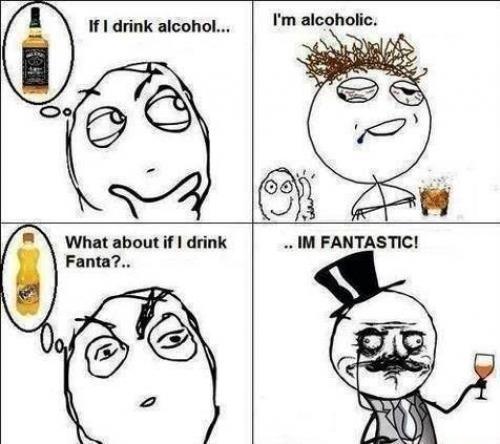 Alkohol vs fanta