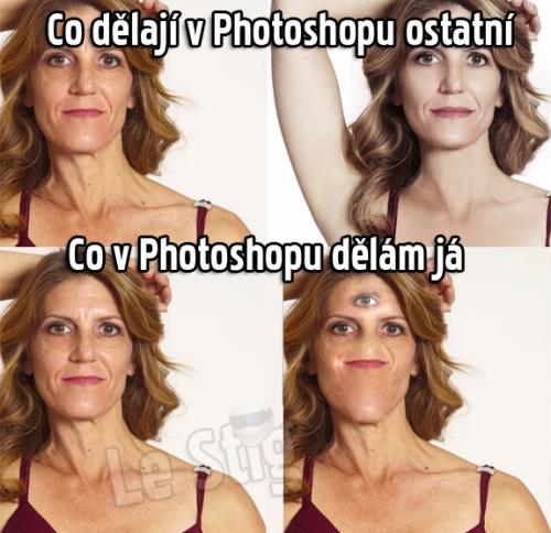 Práce v Photoshopu