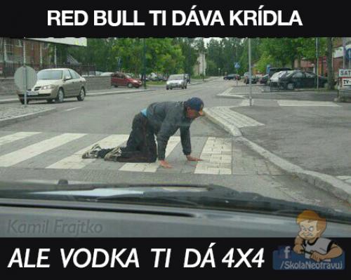 Vodka dává 4x4