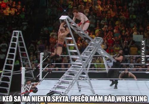 Proč mám rád wrestling
