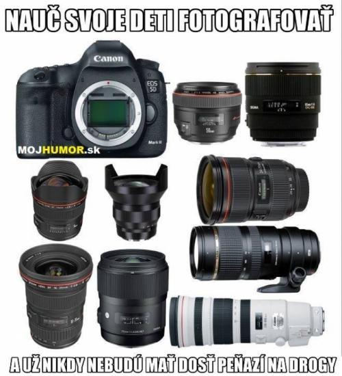 Nauč děti fotografovat