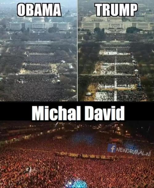 Obama vs. Trump vs. Michal David