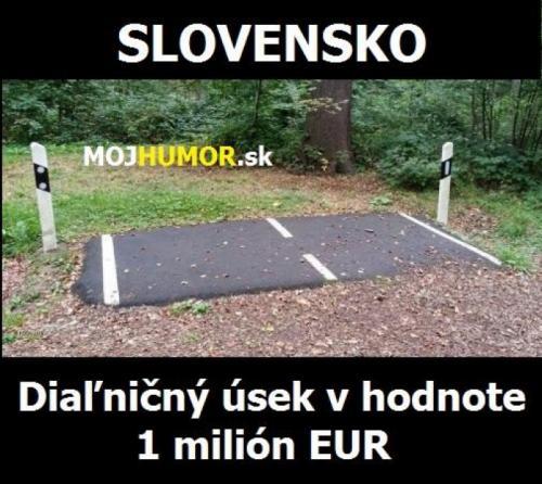 Dálniční úsek Slovensko