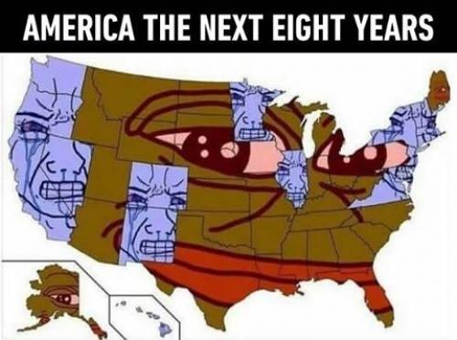 America příštích 8 let
