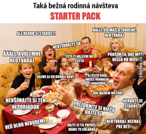 Běžná rodinná oslava