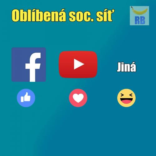 Oblíbená sociální síť