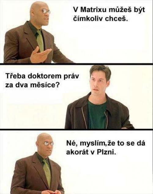 V Matrixu - práva