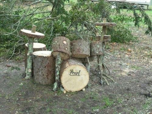 Bubny ze dřeva