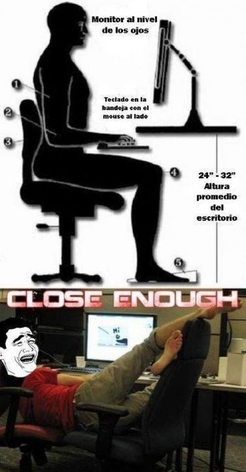 Sedění u PC