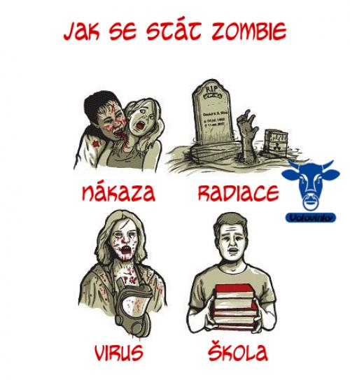 Jak se stát zombie