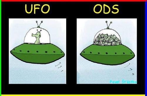 UFO vs ODS