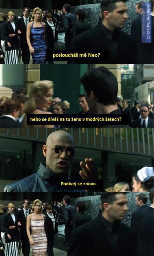 Neo, podívej se