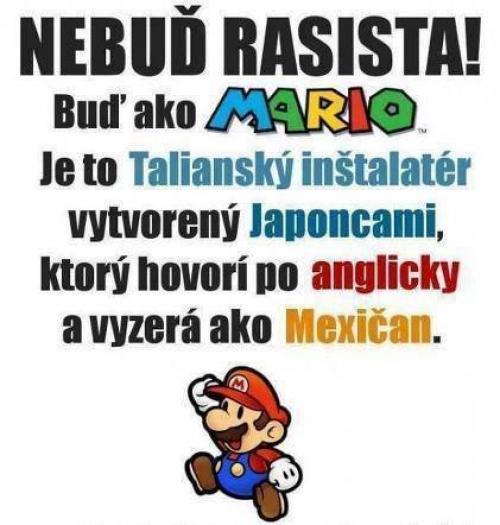 Buď jako Mario!