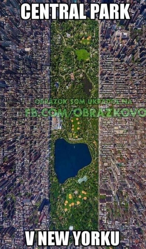 Central park v New Yorku