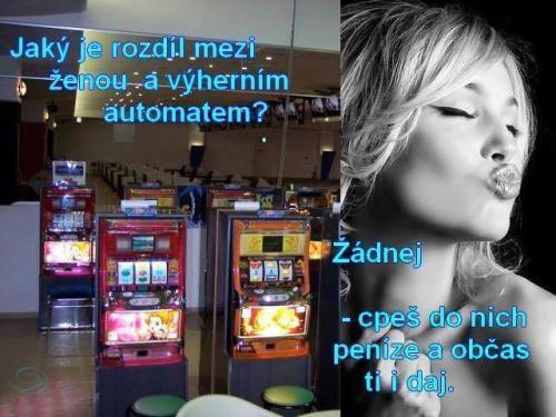 ženy a automaty