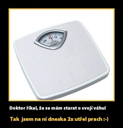 Starat se o váhu