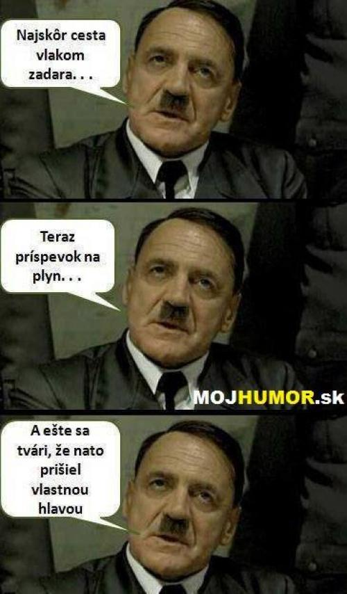 Adolf by byl naštvanej