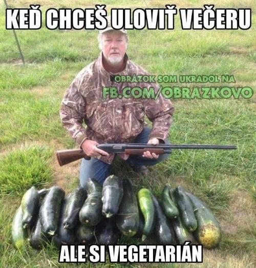 Lovec vegetarián