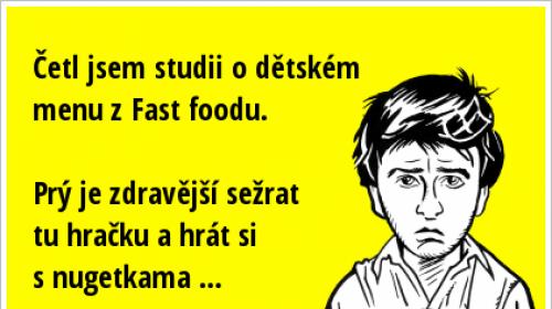 Studie o fast foodu