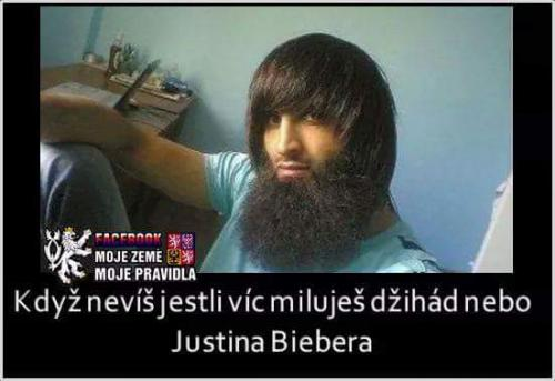 Džihád a Justin Bieber